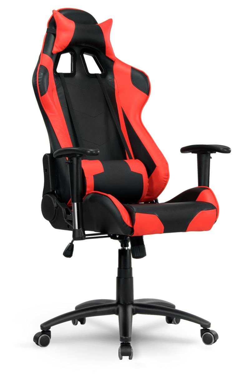 Fotel Biurowy Dla Gracza Sofotel Inferno Czarno Czerwony