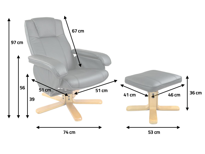 Fotel Z Podnóżkiem Podgrzewacz Sofotel Eg 201