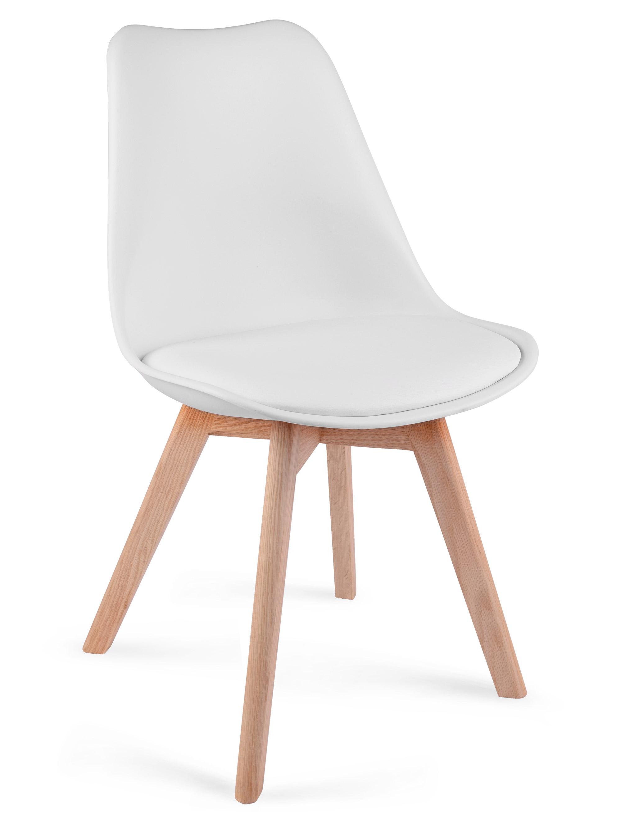 Groovy Krzesło nowoczesne skandynawskie Sofotel Ponti białe KN13